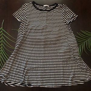 Acemi Black and White Striped Tunic - M